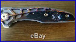 Millit Torrent Damascus Folding Knife