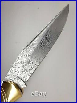 Muela Damascus Blade GL-10DAM Folding Knife, New