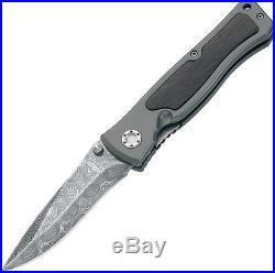 New Boker Folding Pocket Knife Leopard Damascus II BO01130