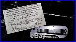 Pro-Tech Sidekick Folding Knife Damascus Wayne Clark Devin Thomas #69 limited ed