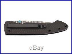 Puma Tec Damascus 67 Layer One-hand Folding Knife Belt Clip