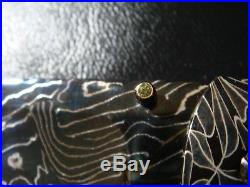 RARE JASON JACKS Custom DAMASCUS DIAMOND & PEARL folder folding knife! MINT