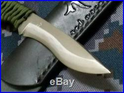 Red Orca Yukikaze Folding Knife 180 mm Blue Paper Interrupt Damascus Japan F/S