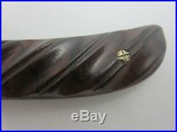 Rick Eaton Custom Handmade Folding Knife Unused Mint Damascus Sole Authorship
