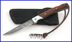 Russian Vorsma Mexican damascus folding blade vorsma knife combat hunting