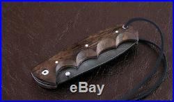 Russian Vorsma Rhino damascus folding blade vorsma knife combat hunting