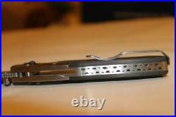 SOG AO3-P Arcitech Damascus Folding Knife