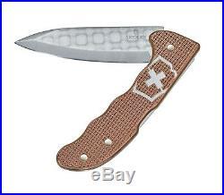 Swiss Army Victorinox 0.9410. J20 Hunter Pro Copper Damascus 2020 Pocket Knife