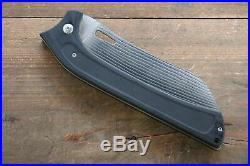 Takeshi Saji R2/SG2 Damascus Folding Santoku Knife Japanese Chef Knife 130mm wit